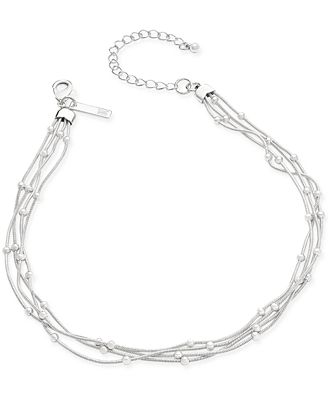 INC International Concepts Bead Chain Choker Necklace, Only at Macy's