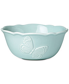 Lenox Butterfly Meadow Carved Collection Fruit Bowl