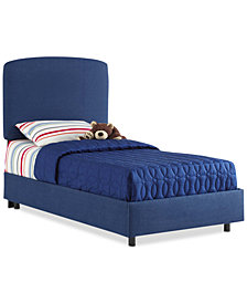Gina Full Upholstered Bed, Quick Ship