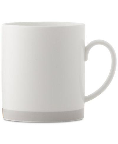 Vera Wang Wedgwood Castillon Gold/Gray Collection Mug