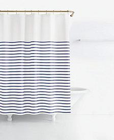 kate spade new york Harbour Stripe Shower Curtain