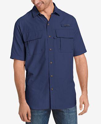 G.H. Bass & Co. Men's Explorer Fishing Shirt - Casual Button-Down ...