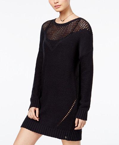Roxy Juniors' Pointelle Sweater Dress