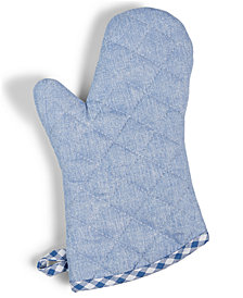 Martha Stewart Collection Chambray Oven Mitt, Created for Macy's