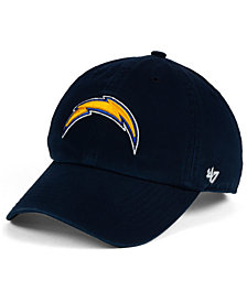 '47 Brand Kids' Los Angeles Chargers Clean Up Cap