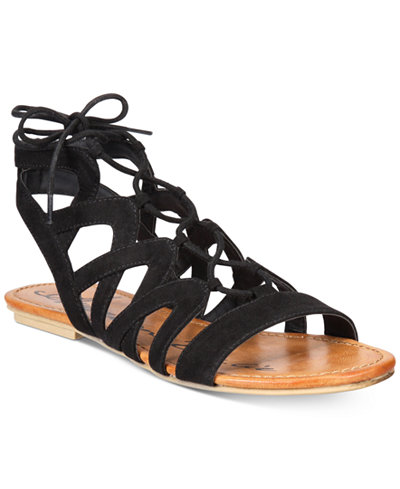 American Rag Marlie Lace-Up Sandals, Only at