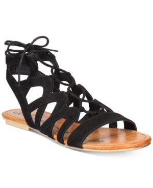 American Rag Marlie Lace-Up Sandals, Created for Macy