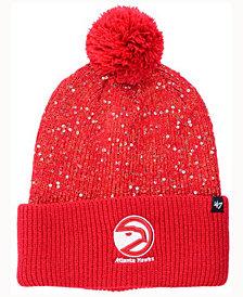 '47 Brand Women's Atlanta Hawks Hardwood Classics Glint Knit Hat