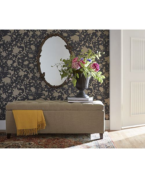 Madison Park Ariana Tufted Storage Bench Quick Ship