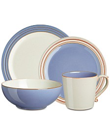 Denby  Dinnerware Heritage Fountain Collection  4-Pc. Place Setting