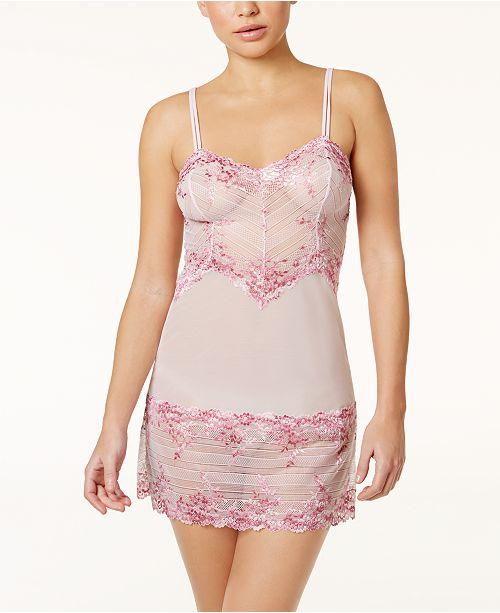 a933a3b90 Wacoal Embrace Lace Chemise 814191 & Reviews - Bras, Panties ...