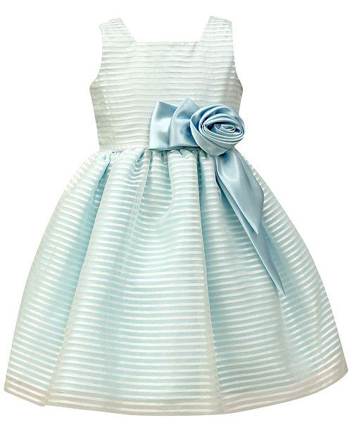 abcac0236e6c Jayne Copeland Organza Stripe Special Occasion Dress, Toddler Girls