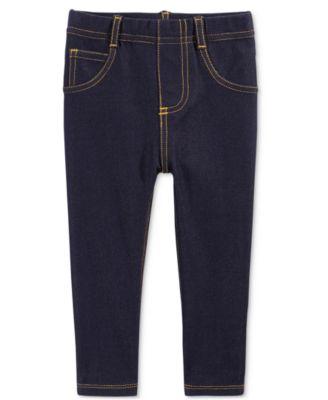 Denim Leggings, Baby Girls, Created for Macy's