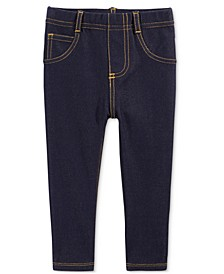Baby Girls Denim Jeggings, Created for Macy's