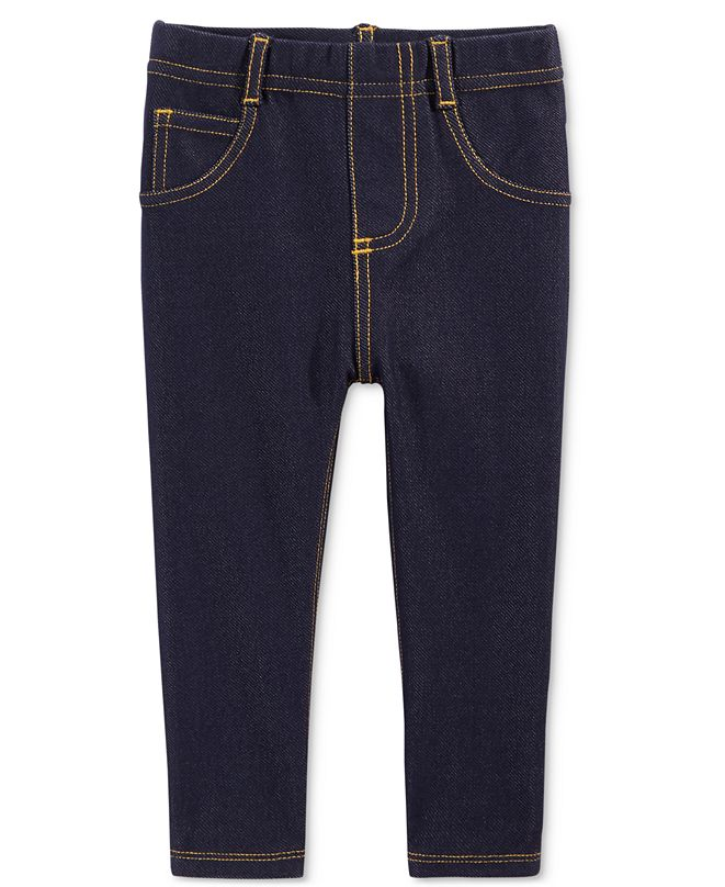 First Impressions Toddler Girls Denim Jeggings, Created for Macy's