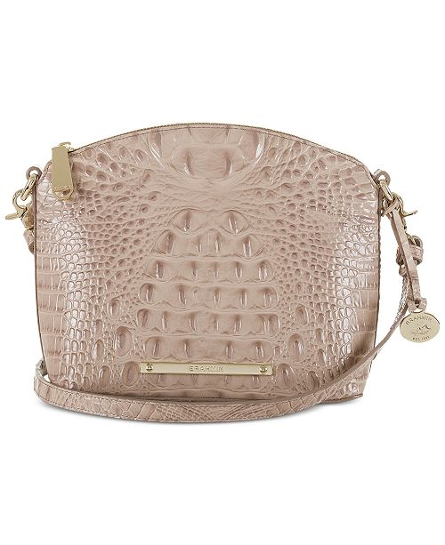 6f68dc230c0a Brahmin Mini Duxbury Embossed Leather Crossbody - Handbags ...