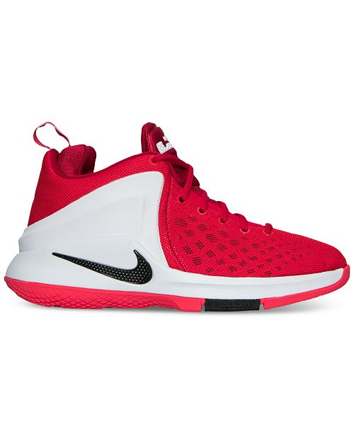 cac185921a40c 2effe 4fb81; france nike big boys lebron zoom witness basketball sneakers  from finish line finish line athletic shoes
