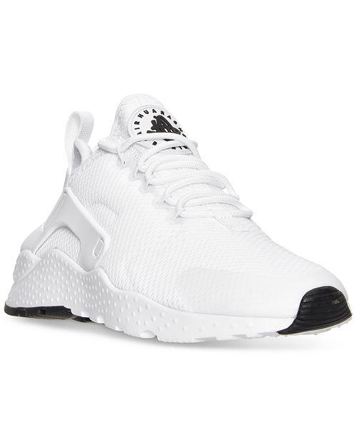 b80e5129ce ... Nike Women's Air Huarache Run Ultra Running Sneakers from Finish ...