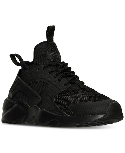quality design 3dde7 65aad ... Nike Big Boys  Air Huarache Run Ultra Running Sneakers from Finish ...