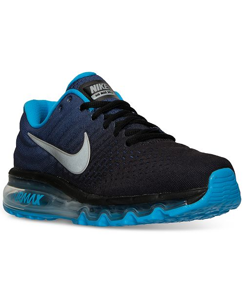 pretty nice 28349 15636 ... Nike Big Boys  Air Max 2017 Running Sneakers from Finish Line ...