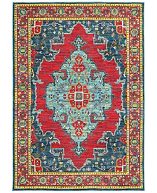 """CLOSEOUT! Vibe Heriz Red 7'10"""" x 10'10"""" Area Rug"""