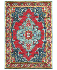 CLOSEOUT! JHB Design Vibe Heriz Red Area Rugs