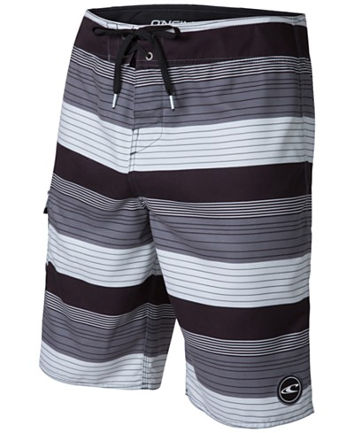 O'Neill Men's Santa Cruz Striped 21 Board Shorts