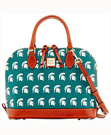 Dooney & Bourke Michigan State Spartans Zip-Zip Satchel