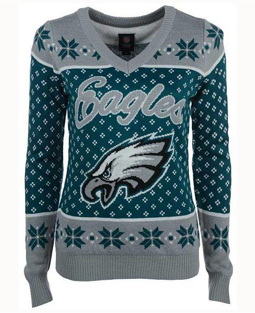 5fcb8c33 Forever Collectibles Women's Philadelphia Eagles Big Logo Ugly ...