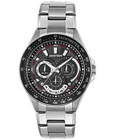 Men's Stainless Steel Bracelet Watch 47mm 20-5197BKSV