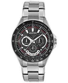 Armitron Men's Stainless Steel Bracelet Watch 47mm 20-5197BKSV