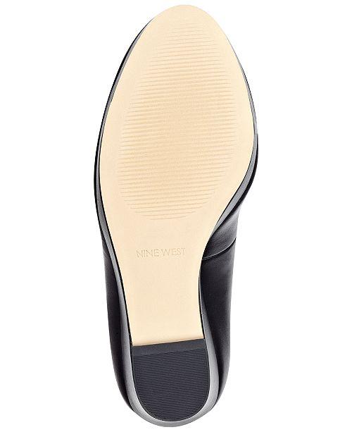 1015e671533 Nine West Halenia Wedge Pumps   Reviews - Pumps - Shoes - Macy s