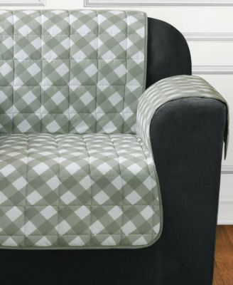 Furniture Flair Quilted Chair Slipcover