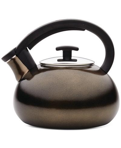 Anolon Allume 2-Qt. Bronze Teakettle