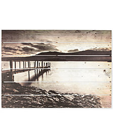 Graham & Brown Tranquil Jetty Print on Wood