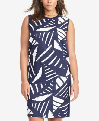 Lauren Ralph Lauren Plus Size Printed Sweater Dress