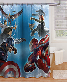 Jay Franco Marvel Sides of War Bath Collection