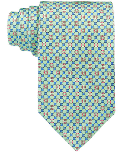 Brooks Brothers Men's Flag & Raft Neat Tie