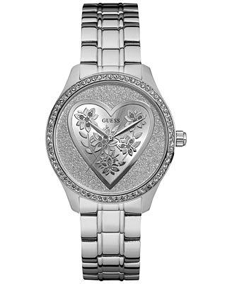 GUESS Women's Stainless Steel Bracelet Watch 37mm U0910L1