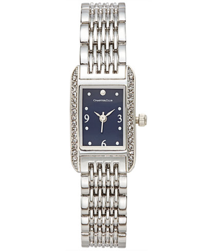 Charter Club Women's Stainless Steel Bracelet Watch 19 x 13mm, Only at Macy's
