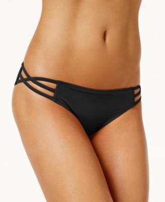 Stunner Strappy Hipster Bikini Bottoms, Created for Macy's