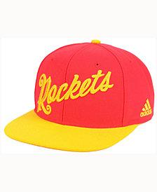 adidas Houston Rockets Seasons Greeting Snapback Cap