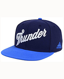 adidas Oklahoma City Thunder Seasons Greeting Snapback Cap