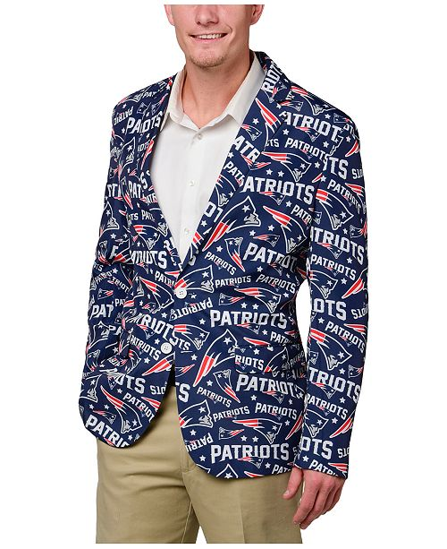db0cd77c457 ... Forever Collectibles Men s New England Patriots Fan Suit Jacket ...