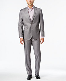Kenneth Cole Reaction Men's Slim-Fit  Micro-Check Suit