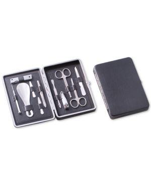 Bey-Berk 10-Pc. Stainless Steel Manicure Set thumbnail