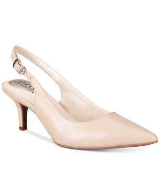 Image of Alfani Women's Step 'N Flex Babbsy Pointed-Toe Slingback Pumps, Only at Macy's