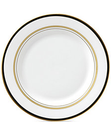 kate spade new york Library Lane Black Collection Bread & Butter Plate