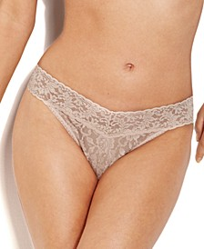 Women's Signature Lace Original Rise Thong