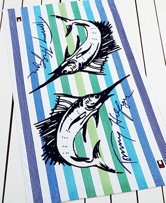 Tommy Hilfiger Marlin Mania Beach Towel